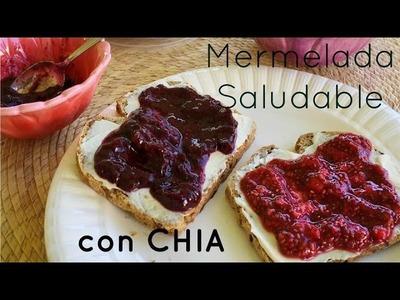 Mermelada SALUDABLE de Chia y Frutas - 3 INGREDIENTES!!
