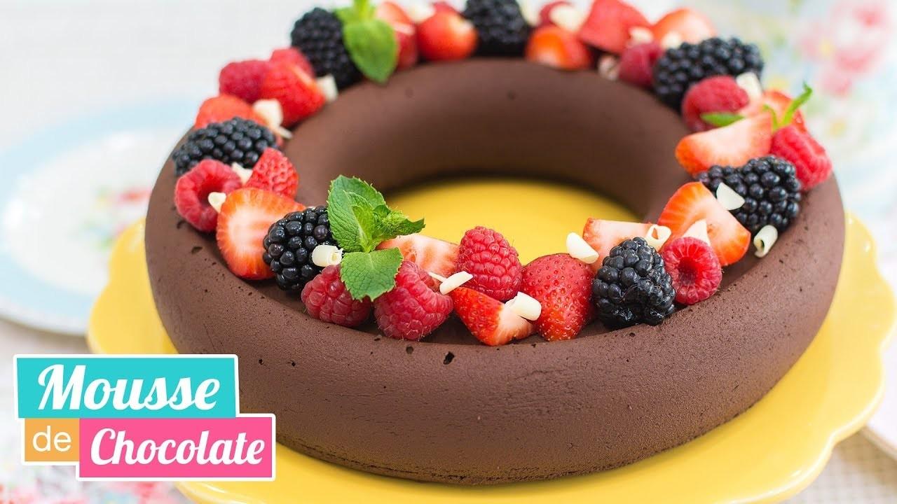 MOUSSE DE CHOCOLATE CON EFECTO TERCIOPELO | Fácil y deliciosa | Quiero Cupcakes!
