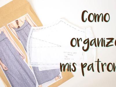 Sewing Tips - Cómo organizo mis patrones | MANNEKEN