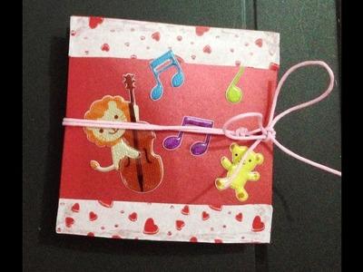 Tarjeta acordeon,Perfecta para San Valentin [FACIL]