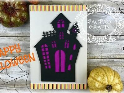 Tarjeta para Halloween | Moldes GRATIS | Día de Brujas | Halloween Greeting card | Free Templates