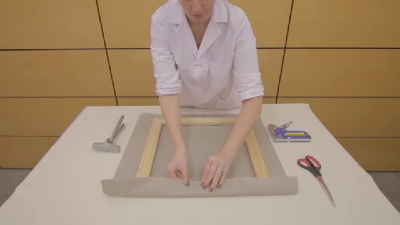 Tutorial cómo montar un lienzo.how to mount a canvas