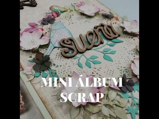 TUTORIAL MINI ALBUM SCRAP