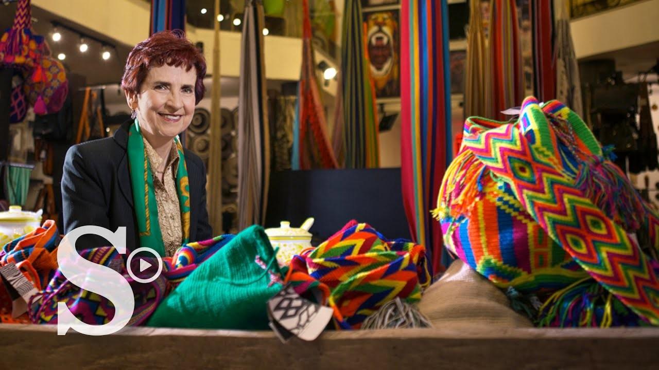 Una visionaria de la artesanía colombiana