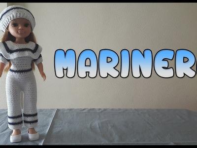 Vestido de Marinera para muñeca Nancy