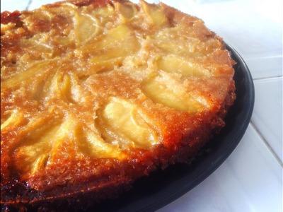Volteado de manzana - Pastel de Manzana