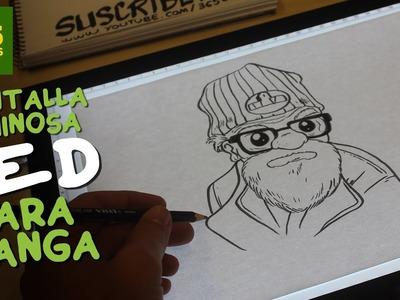 APRENDER A DIBUJAR CON HUION LED: Como dibujar profesionalmente paso a paso