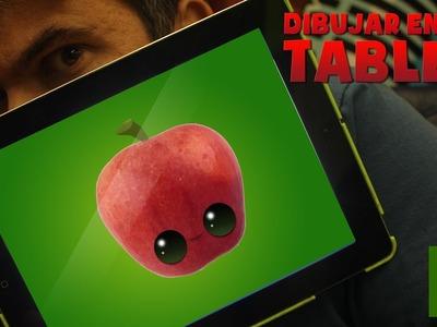APRENDER A DIBUJAR CON TABLET : Como dibujar profesionalmente paso a paso - Como dibujar manzana