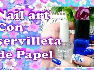 Como decorar tus uñas con servilleta de papel: Nail art con decoupage