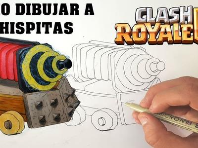 Cómo Dibujar A CHISPITAS De CLASH ROYALE-MagicBocetos-Tutorial Paso A Paso