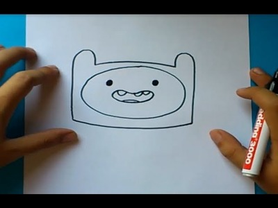 Como dibujar a Finn paso a paso 6 - Hora de aventuras | How to draw Finn 6 - Adventure time