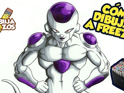 COMO DIBUJAR A FREEZER (4TA FORMA) | HOW TO DRAW FRIEZA 4TH FORM | DRAGON BALL SUPER