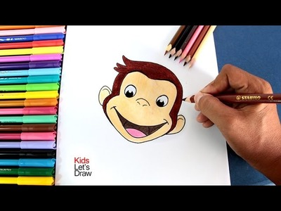 Cómo dibujar a JORGE EL CURIOSO | How to draw and paint Curious George