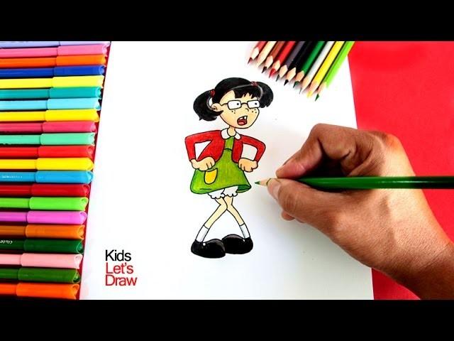 Cómo Dibujar A La Chilindrina El Chavo Del 8 Animado How
