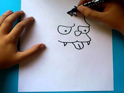 Como dibujar a Rasca paso a paso - Rasca y Pica | How to draw Scratchy - Itchy and Scratchy