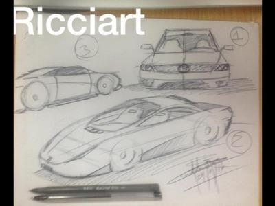Como dibujar un auto en perspectiva - narrado