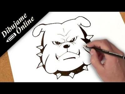 Como dibujar un bulldog | como dibujar un bulldog paso a paso