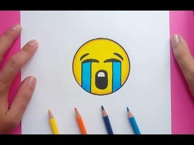 Como dibujar un Emoji paso a paso 2 | How to draw an Emoji 2