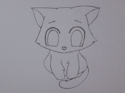 Cómo dibujar un gatito