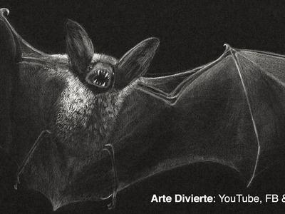 Cómo dibujar un murciélago vampiro!