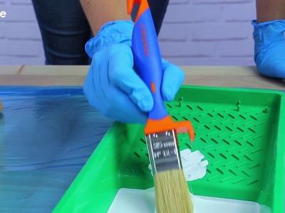 Cómo hacer un escritorio con caballetes de madera | Soluciones Pentrilo