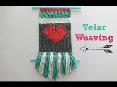 Cómo hacer un tapiz con telar