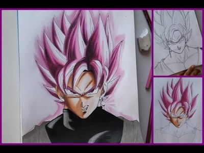 Como pintar a  goku black con destellos y brillos (paso a paso) PARTE 1 | How to paint goku black