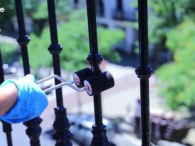 Cómo pintar verjas o barandillas metálicas | Soluciones Pentrilo