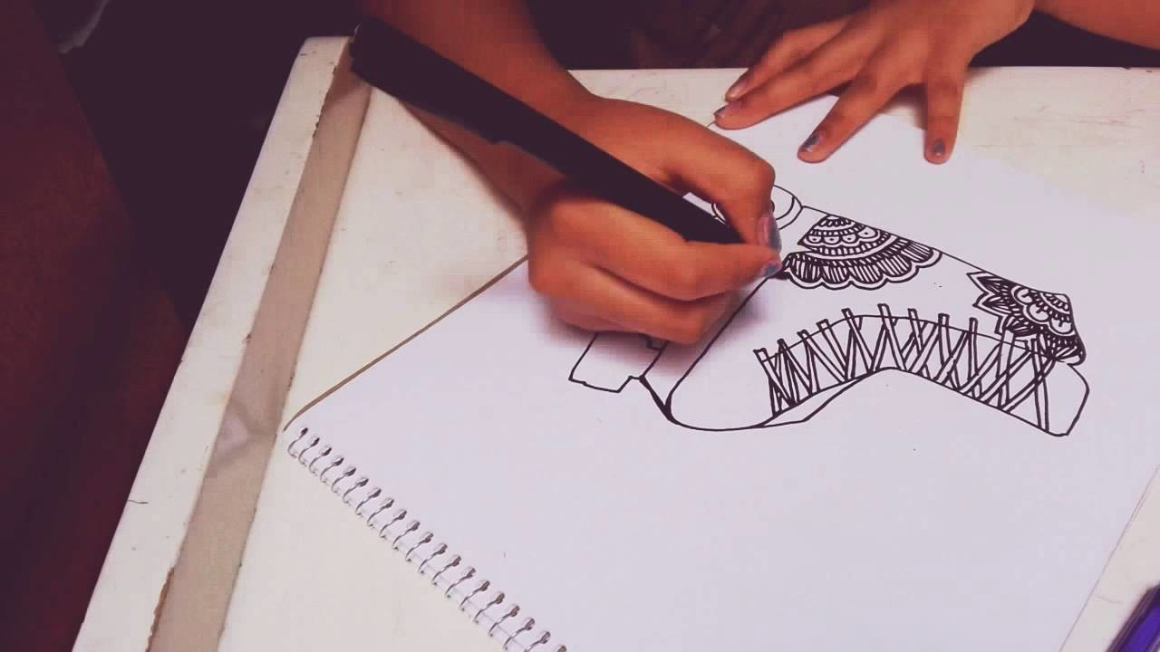 Dibuja el patín que puedas imaginar