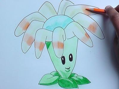Dibujando y coloreando Bumeran (Plantas vs Zombies) - Drawing and coloring CreativeJobsCentral