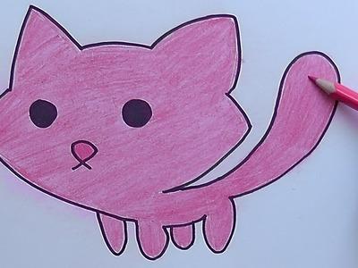 Dibujando y pintando Milkshake - Drawing and painting Milkshake