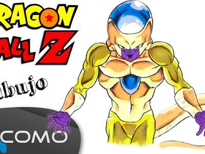 Ball Dibujar A Freezer Dorado De Dragon Ball Z Dibujar A Freezer