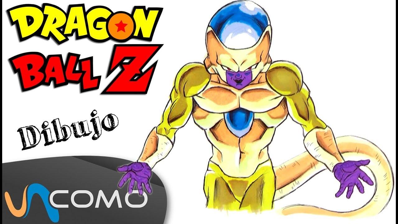 Dibujar a Freezer dorado de Dragon Ball Z