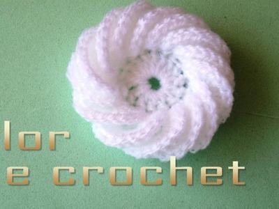 DIY - Flor de crochet de 15 pétalosDIY - 15-petal crochet flower