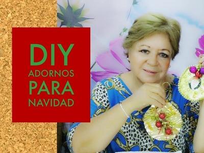 DIY - HERMOSO ! ADORNO PARA NAVIDAD CON CDS RECICLADOS
