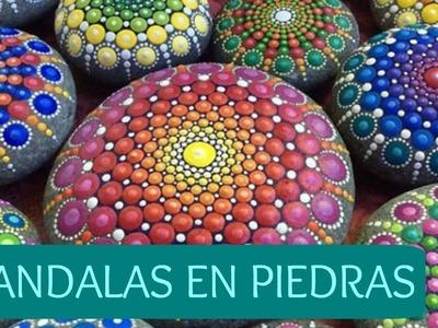 DIY MANDALAS EN PIEDRAS