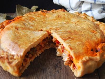 Empanada de pollo casera y fácil