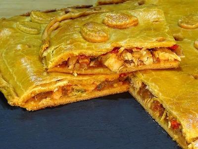 Receta Empanada gallega de bonito en aceite - Recetas de cocina, paso a paso. Loli Domínguez