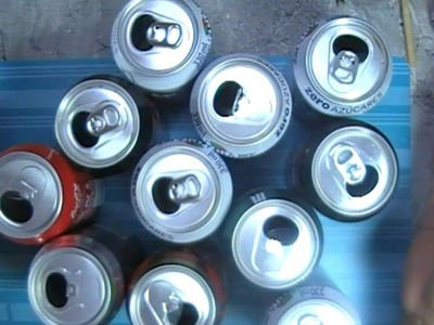 Reciclando latas de refresco (Tic para scrap )