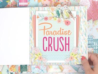 Set de scrapbooking Paradise Crush de First Edition