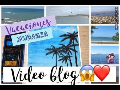 Vacaciones & Mudanza  - MAS VIDEO TUTORIAL (Palmas y Cielo).VideoVlog❤