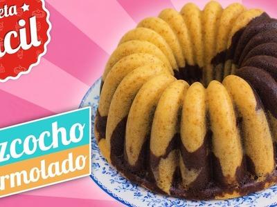 BIZCOCHO MARMOLADO | Receta fácil | Quiero Cupcakes!