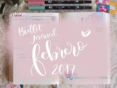 Bullet Journal, edición febrero 2017