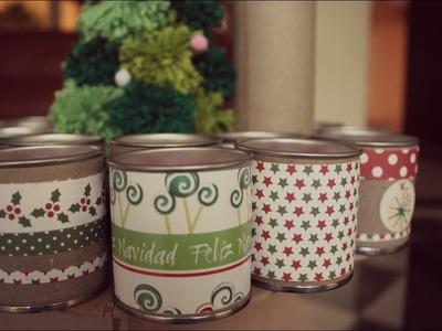 Calendario de adviento de navidad + FÁCIL