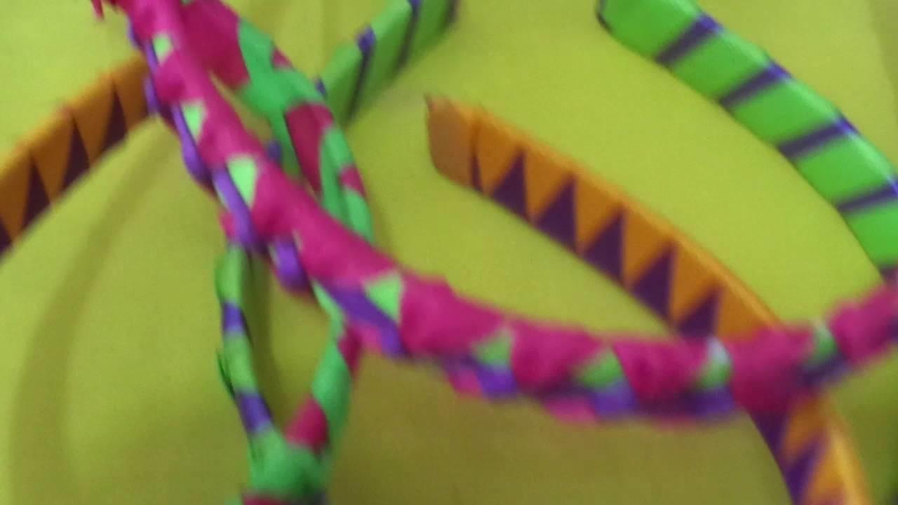 Cintillo 4 cintas en forma de V.Creaciones Solyemar.2-6-16.