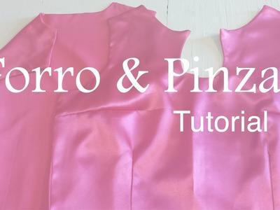 ♥ Como coser Forro y Pinzas a un vestido ☁