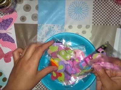 Como hacer Embellecedores para Scrap facil y Economico (Embellishment) Cap 2