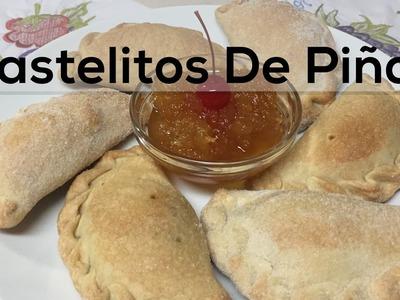 Como hacer Pastelitos De Piña Salvadoreños - Empanadas Rellenas de Piña