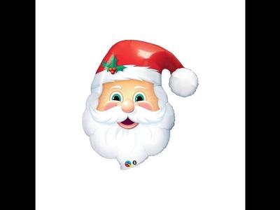 Como Hacer un Rostro de Papa Noel con Globos - Hogar Tv  por Juan Gonzalo Angel