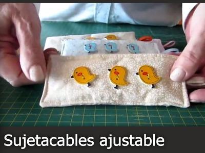 Cómo hacer un Sujetacables Ajustable [Tutorial]